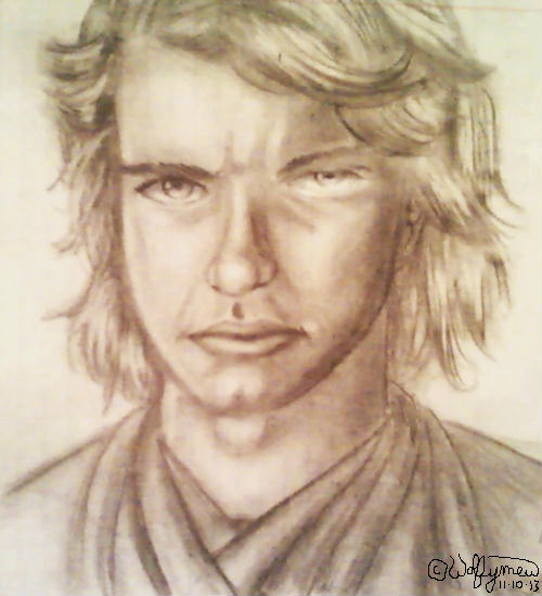 Anakin Skywalker by wolfymewmew