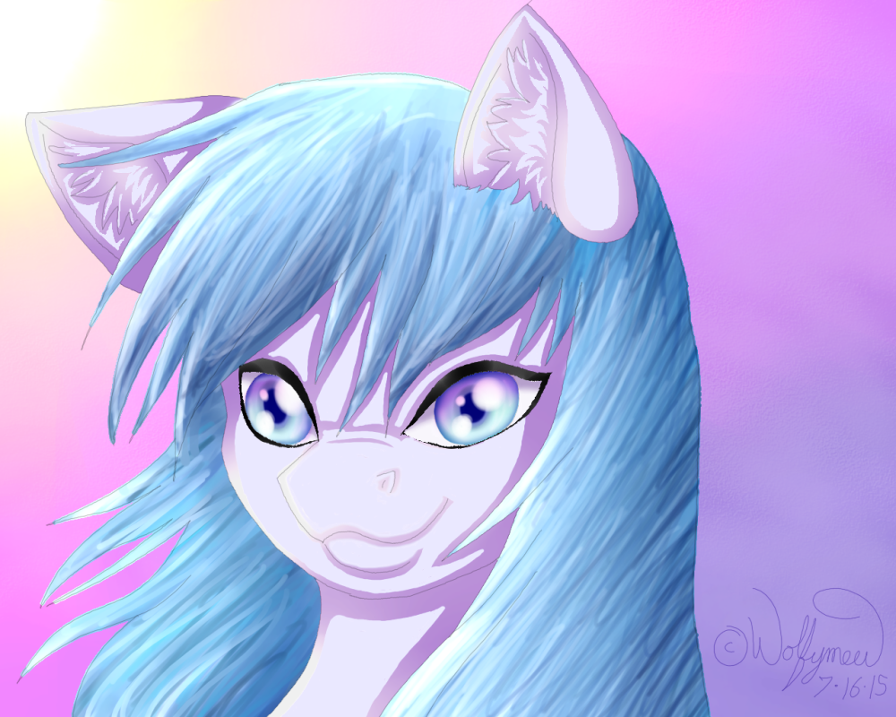 Paint Tool Sai Pony by wolfymewmew