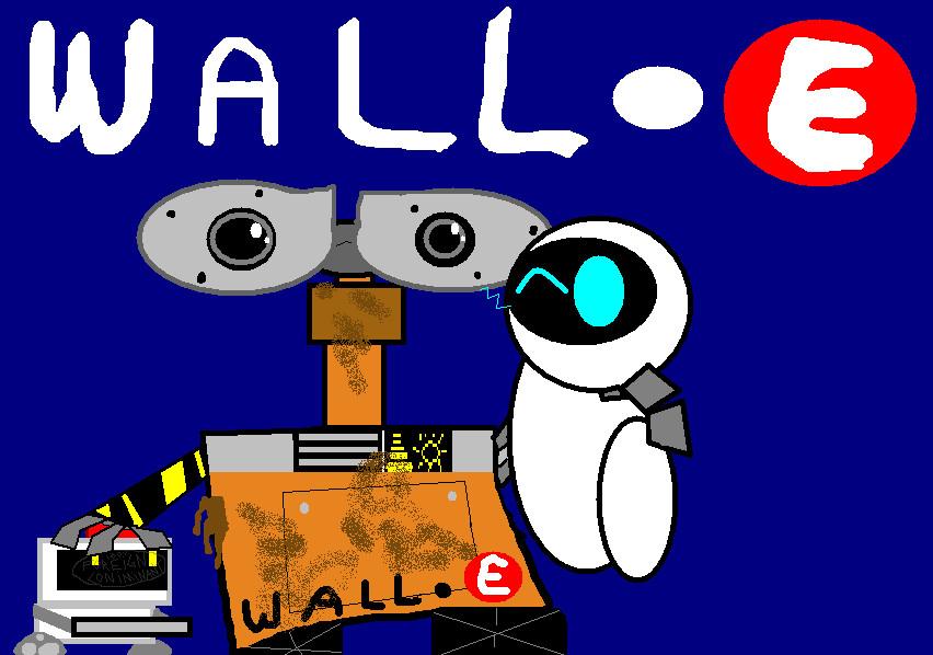 Wall-E by woodlandkids