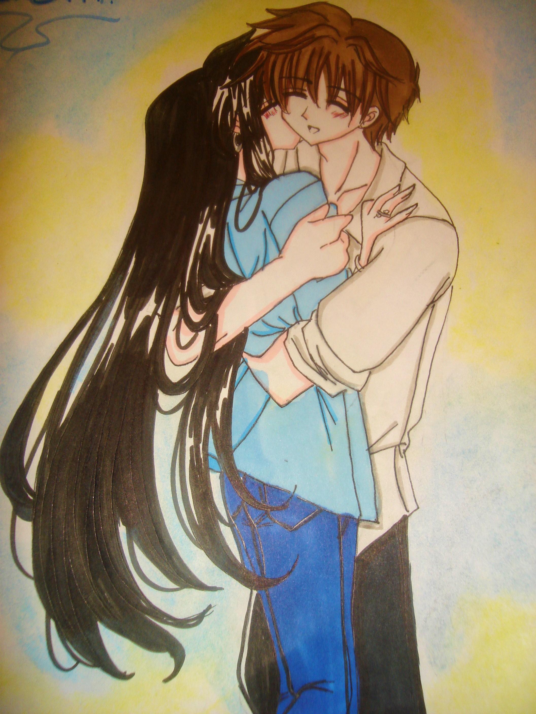 a kiss on the cheak^-^ by wrdkiki