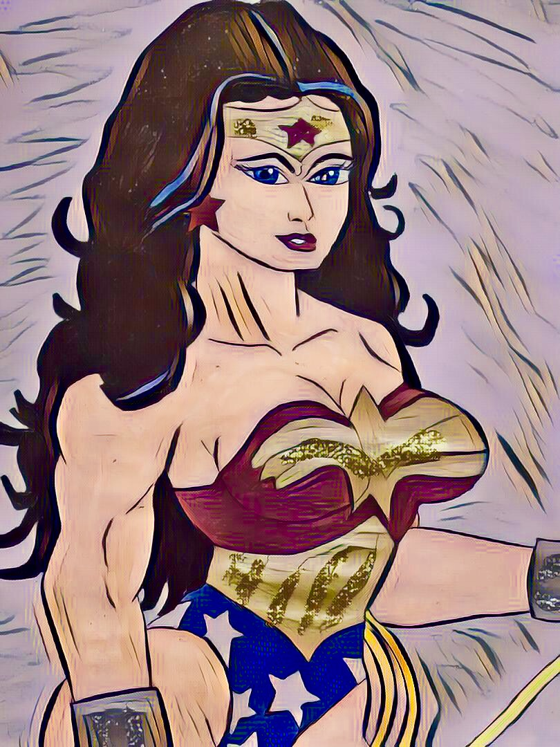 Wonder Woman by wrightmother
