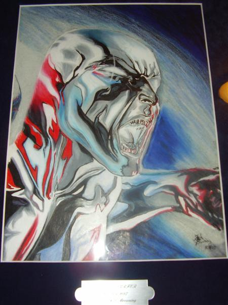 The Silver Surfer by wwwzechartcom