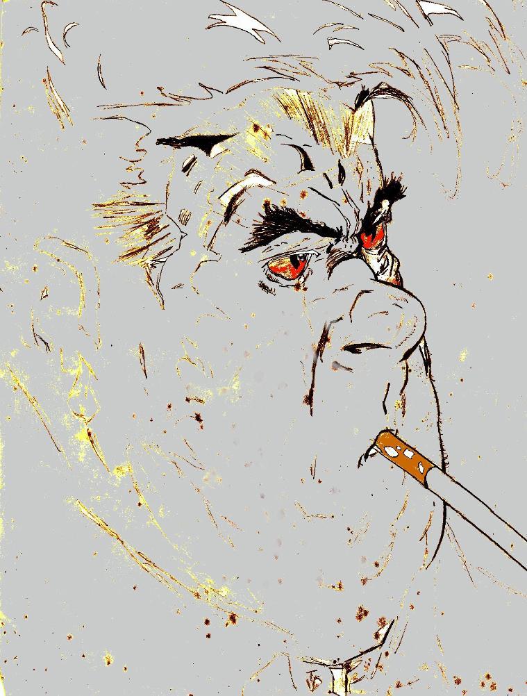 Detectrive Sam Burke by wwwzechartcom