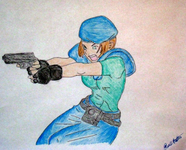 Jill Valentine- Colored by XCBobby06