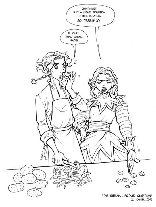 The eternal potato question ^_^ by Xanth