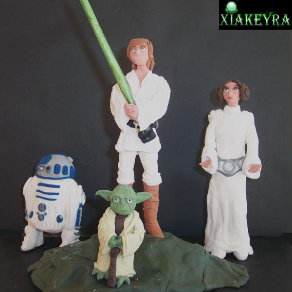 Star Wars, plastilina by Xiakeyra