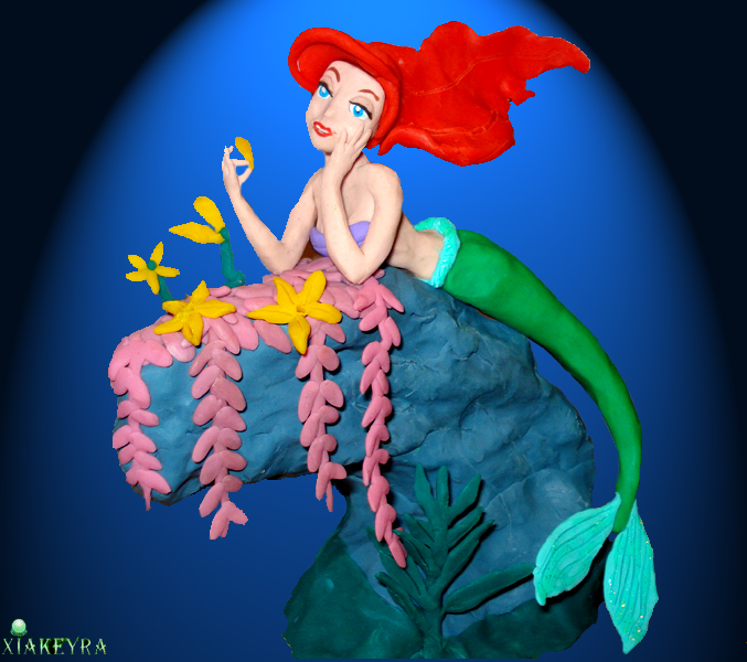 Mermaid Ariel by Xiakeyra