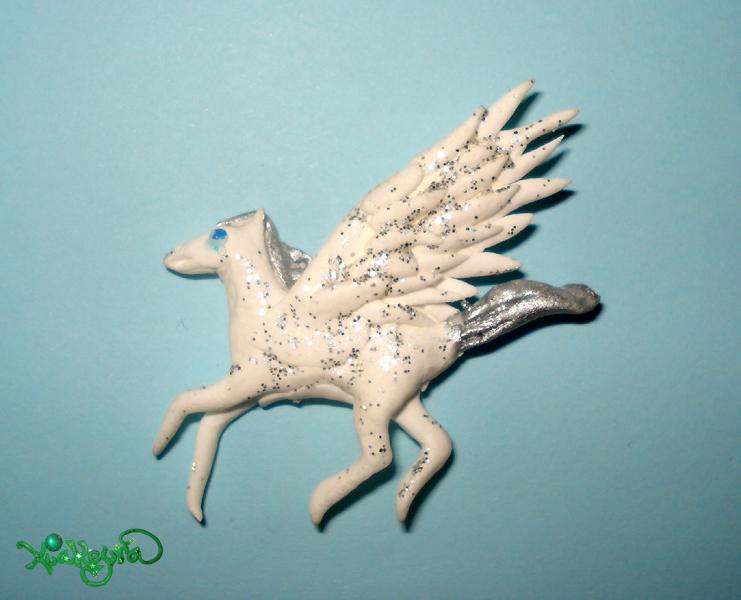 Pegasus Charm by Xiakeyra