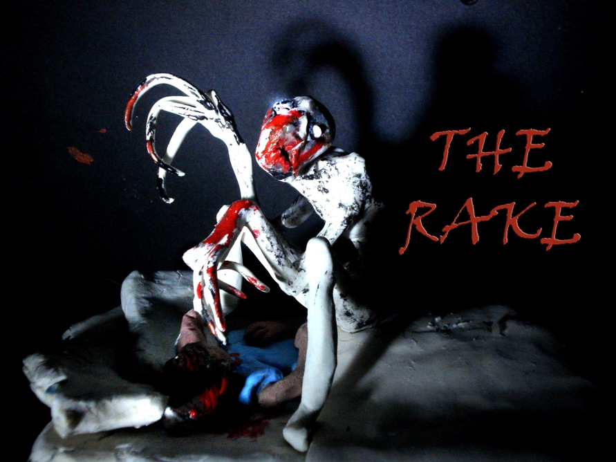 Creepypasta character the Rake by Xiakeyra