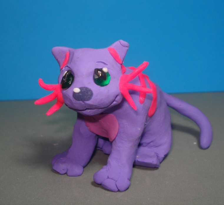 claymation request 10 Nathan cat by Xiakeyra
