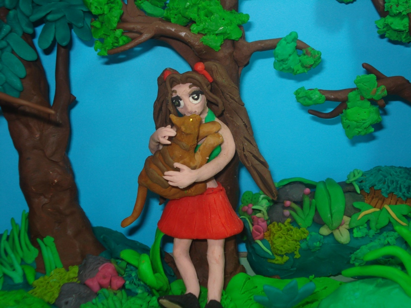 LOOK FOR (claymation phrasal verb) by Xiakeyra