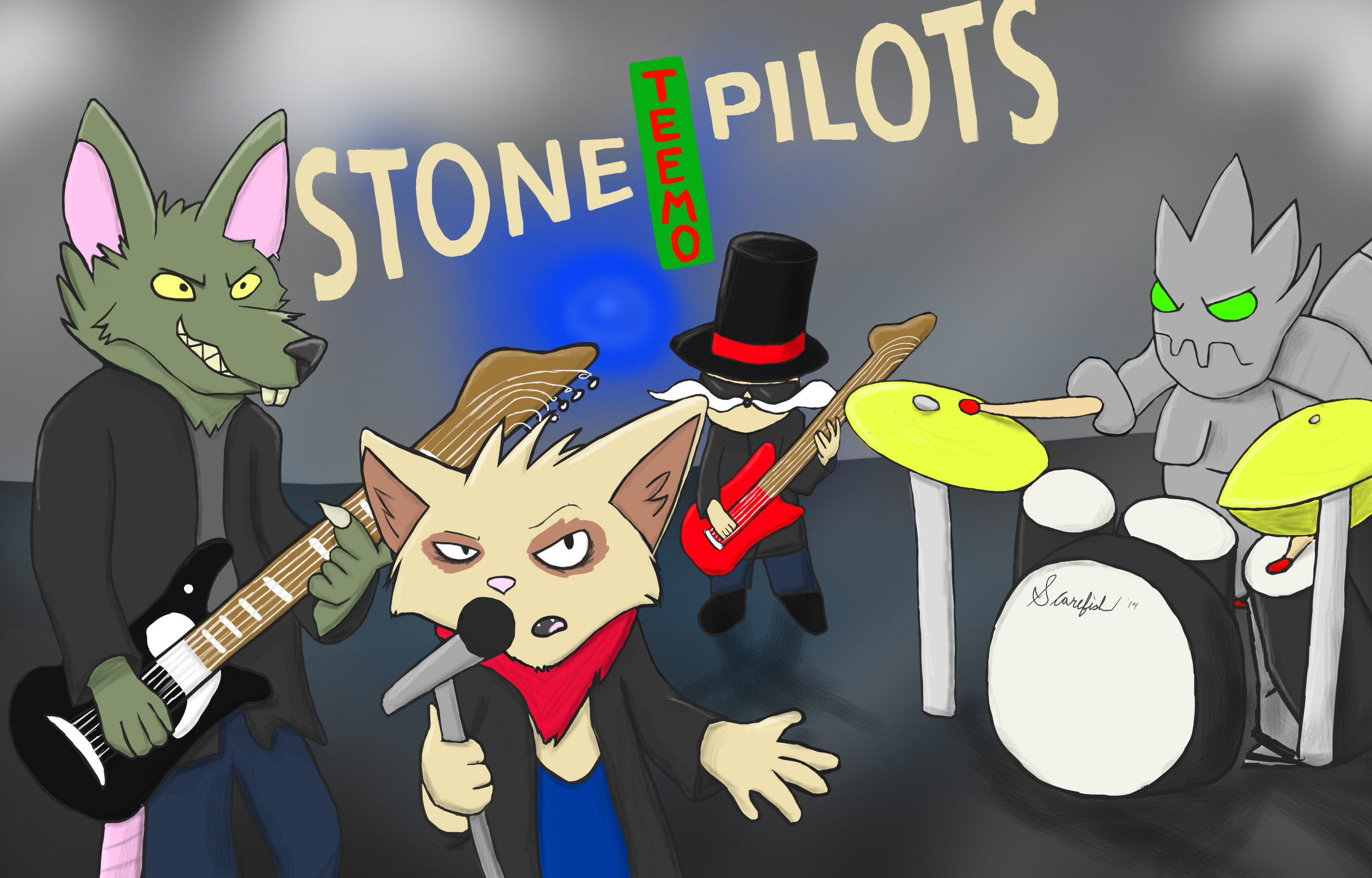 Stone Teemo Pilots by Xtreme2252