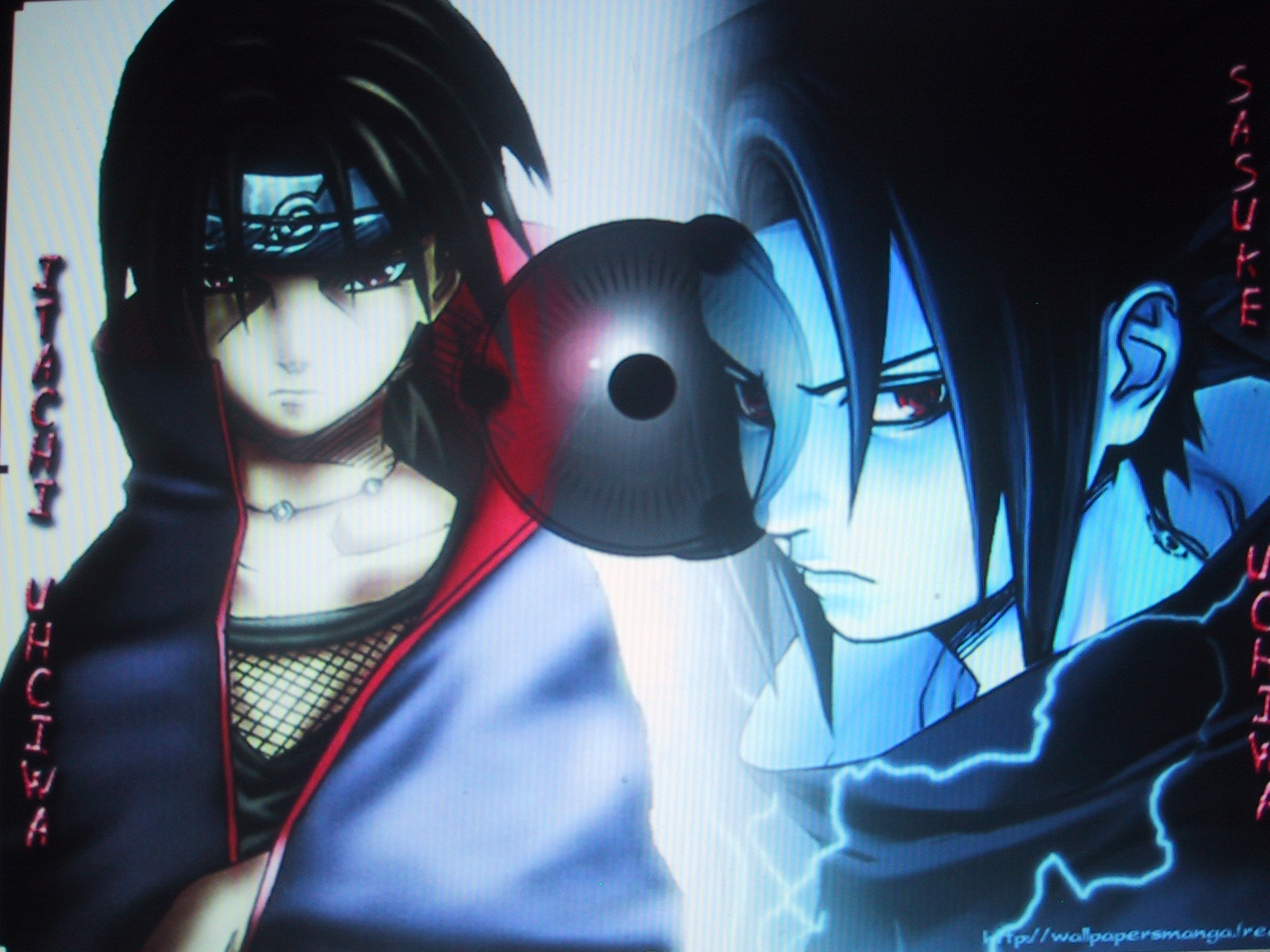 Itachi & Sasuke by XxT0R0saurusRAYxX