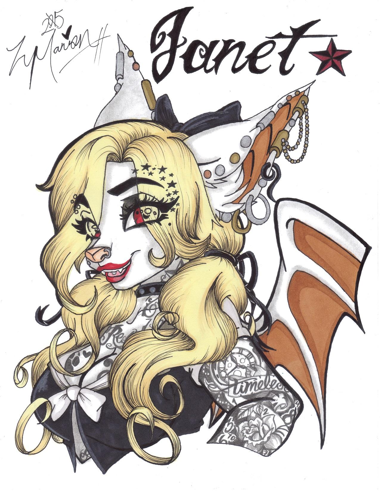 Janet V.3 by Xx_Noir2244_xX