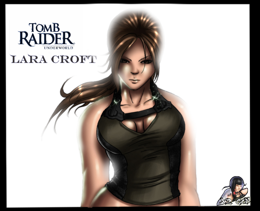 Lara Croft Underworld by x2gon