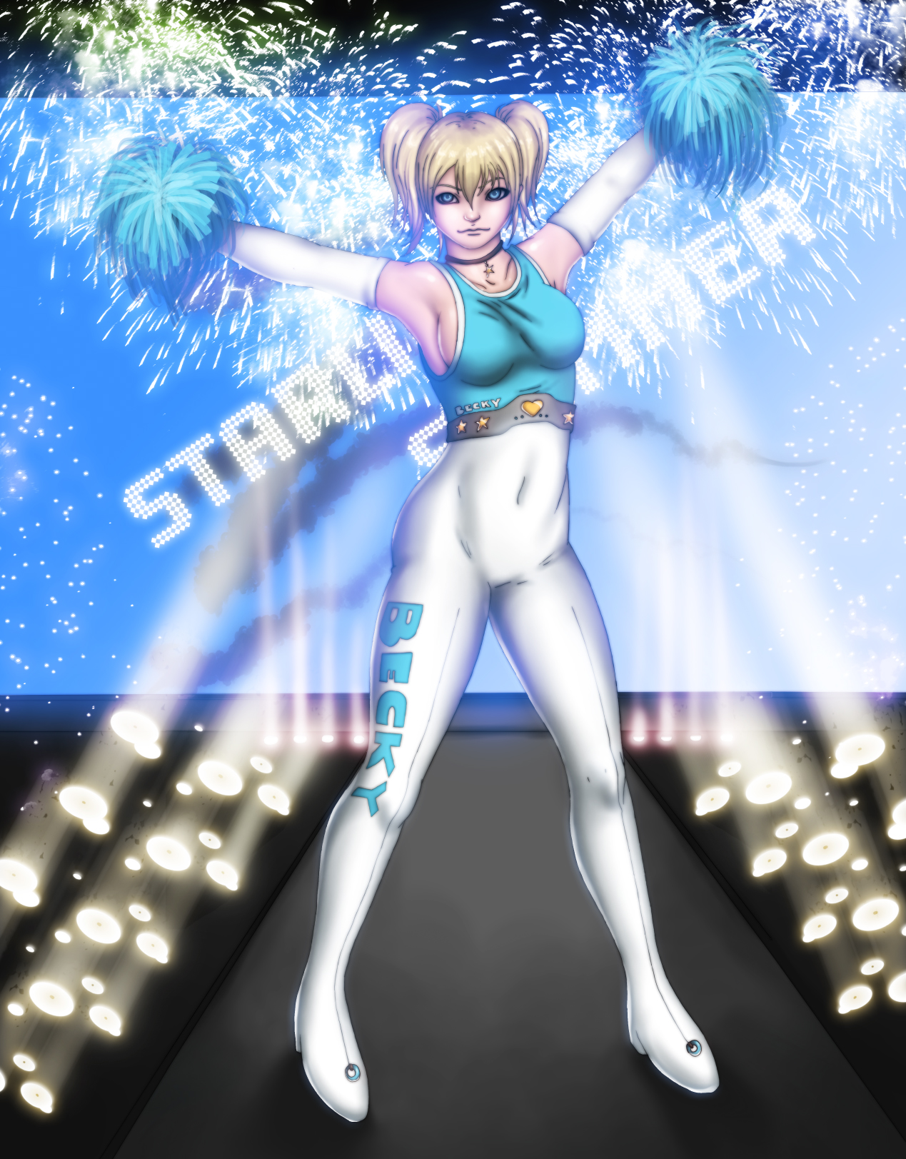 Becky Starlight Slammer by x2gon