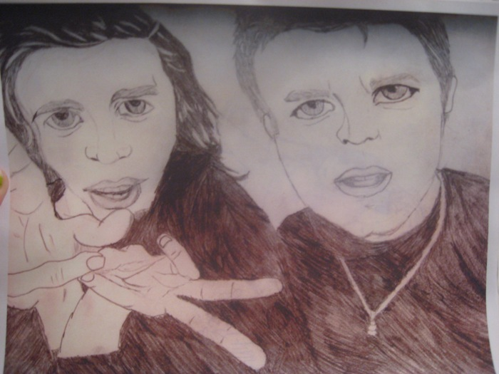Nathaniel Motte and Sean Foreman From 3oh!3 by x3oh3x