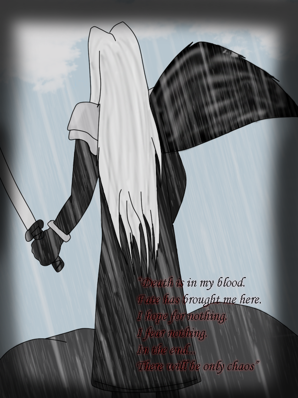 Sephiroth (Request for SweetxinsanityxSarah) by xAmiDarkfieldx
