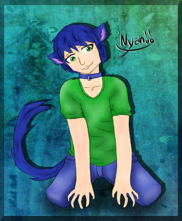 Nyah!! by xAmiDarkfieldx