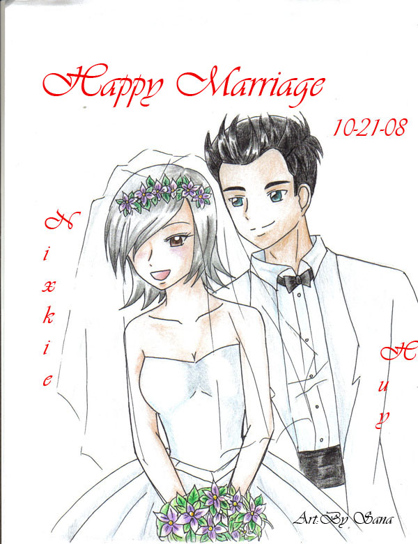 Happy Marriage! by xBaByPaNdAXD