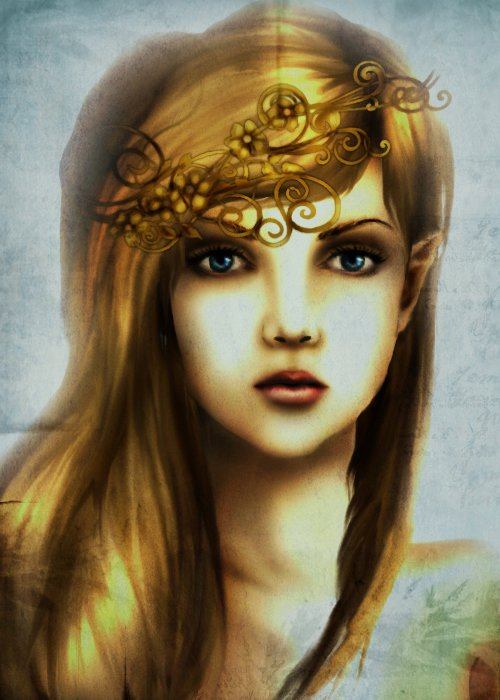 Princess Zelda Realism Attempt by xBlueAngel