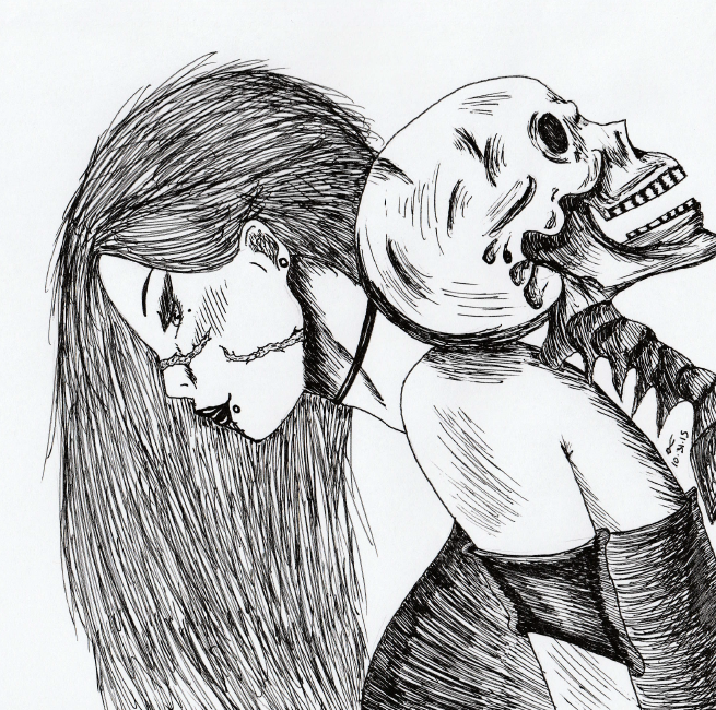 Alone With His Bones by xNayamashiixDarklingx