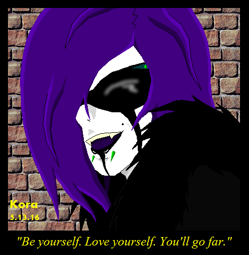 Be Yourself by xNayamashiixDarklingx