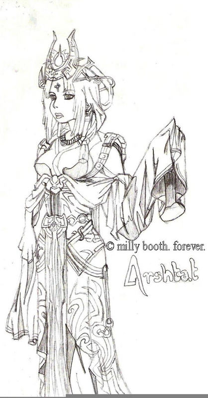 Queen Arshtat by xSoraFlyingFreex