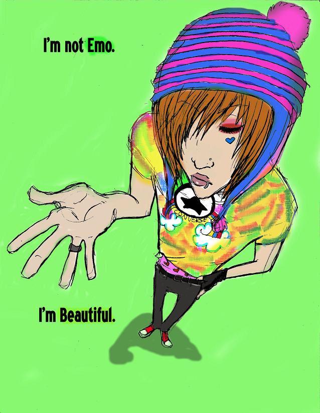I'm Beautiful. by xWickedx