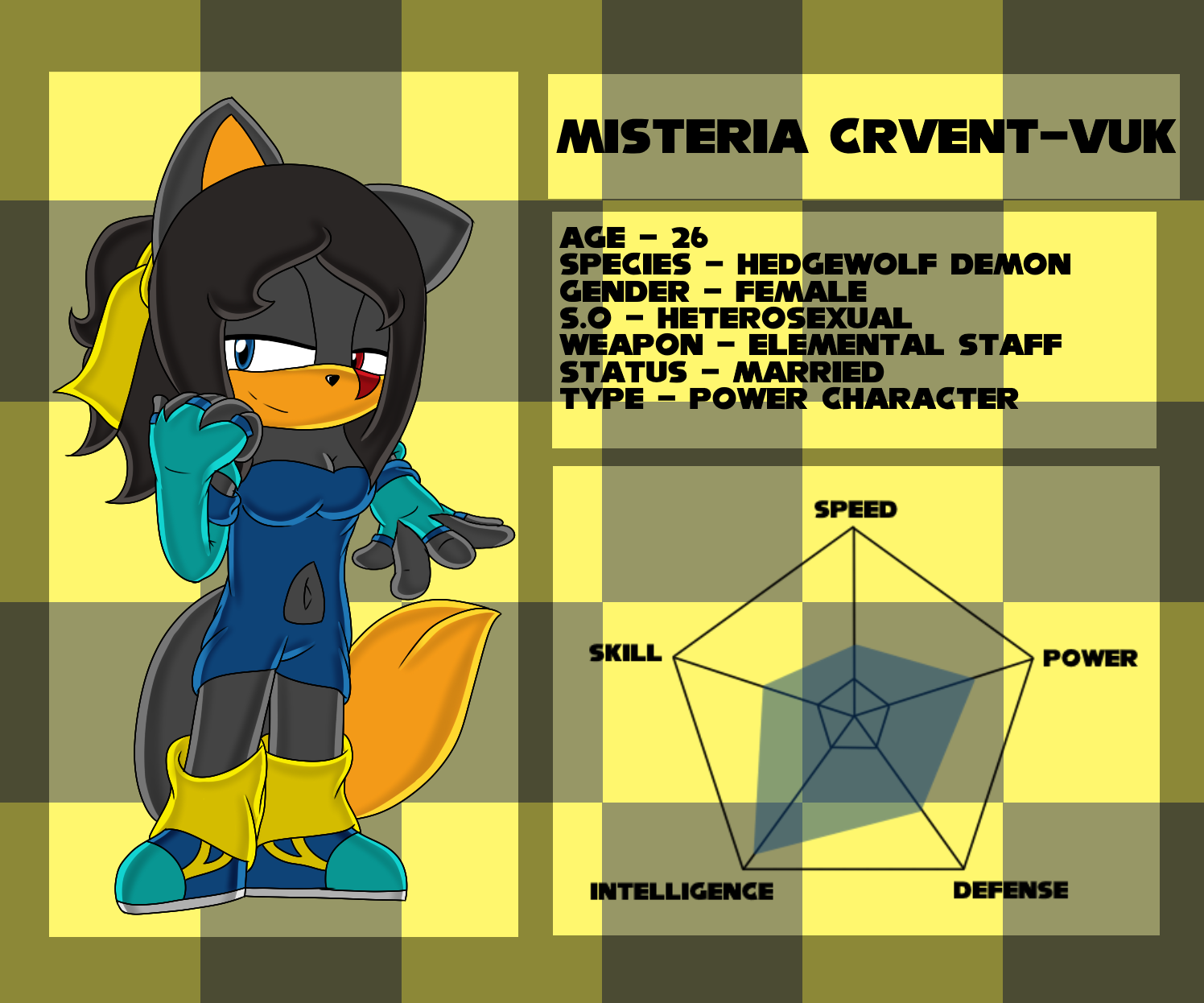 Reference Sheet .:Misteria Crvent-Vuk:. by xXElectric-HybridXx