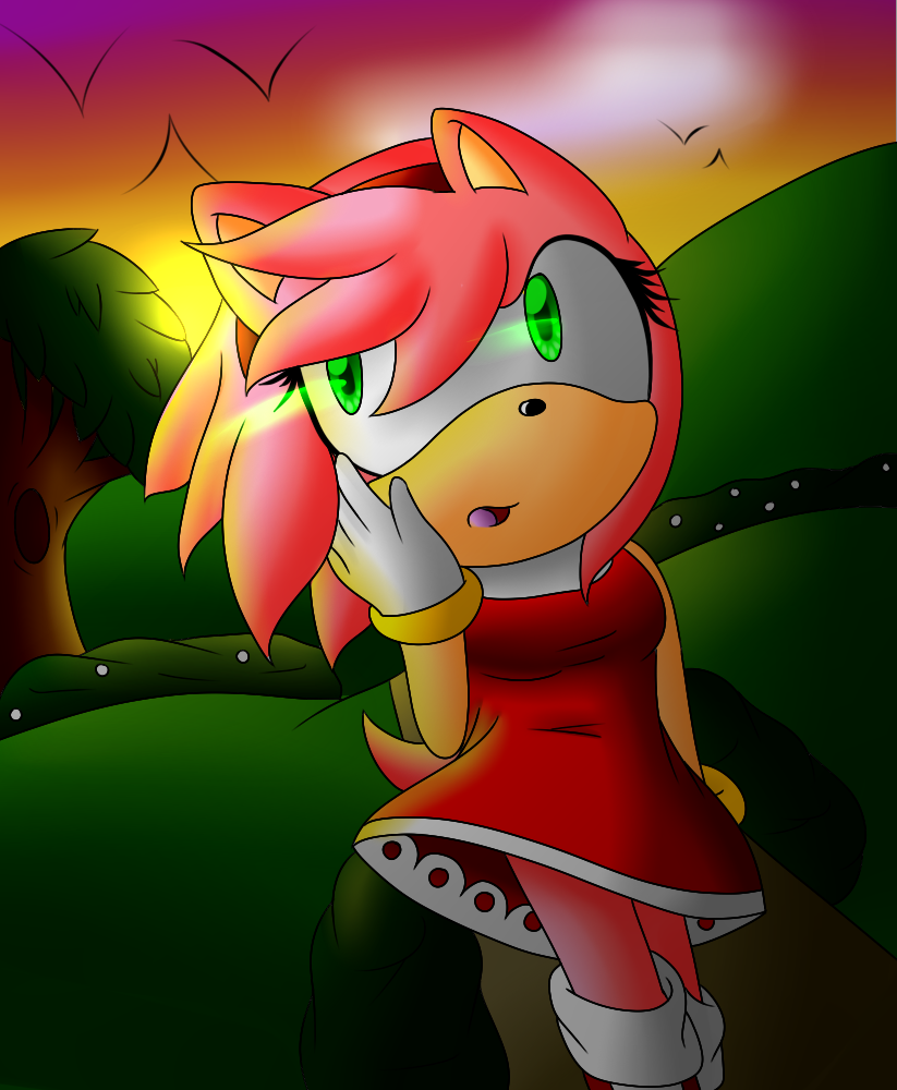 Amy Rose .:Addicted:. by xXElectric-HybridXx
