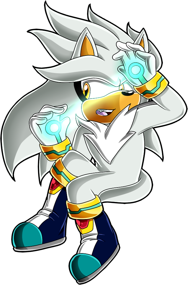 Silver the Hedgehog by xXElectric-HybridXx