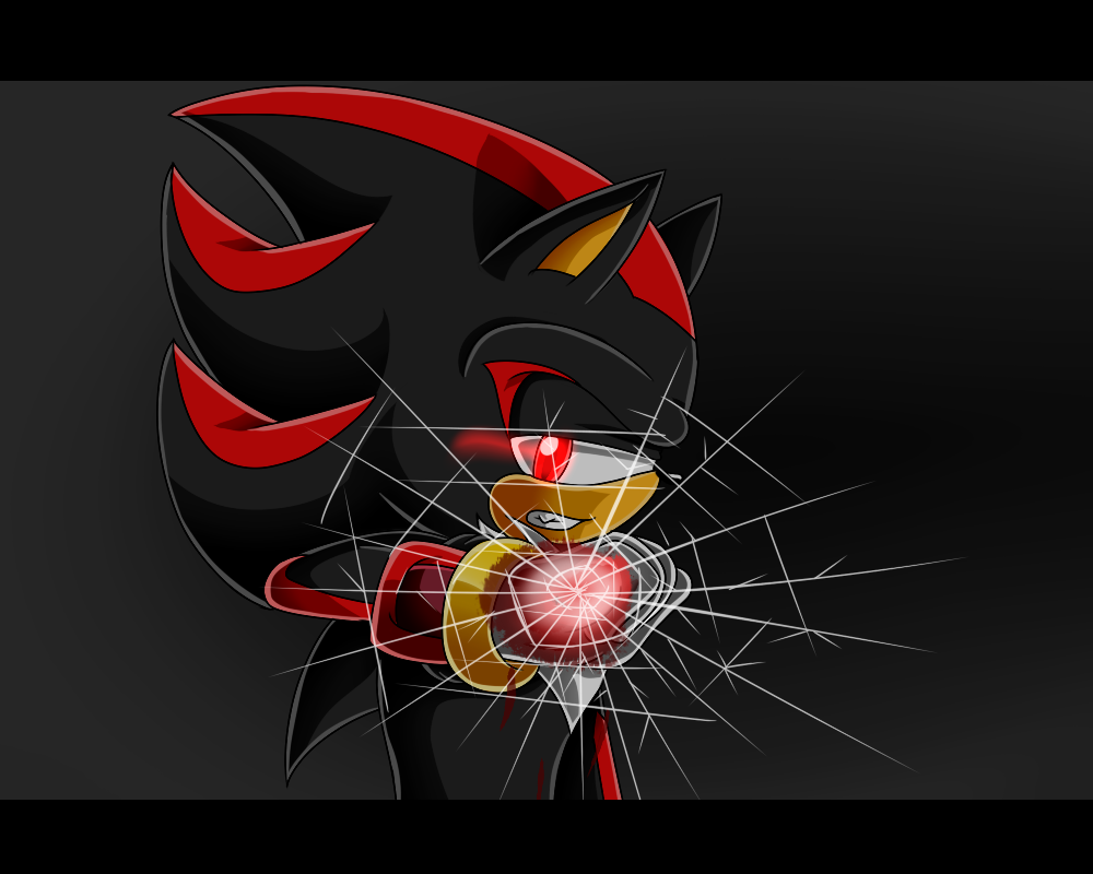 Shadow the Hedgehog .:Shatter:. by xXElectric-HybridXx