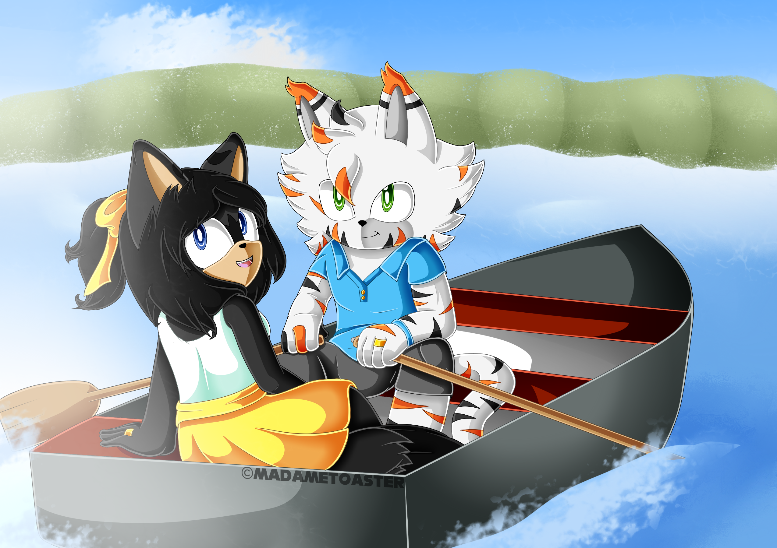Boat Ride by xXElectric-HybridXx