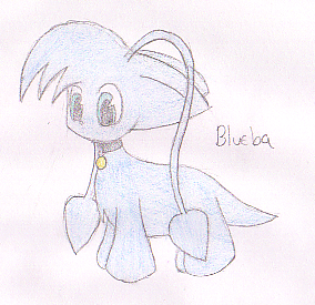 Blueba -request for DoomfulEons- by x_Tess_The_Slorg_x