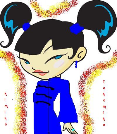 kimiko's dress by xiaolintitianfangirl