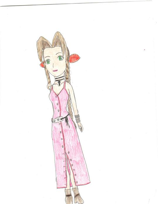 Aerith by xoprincessxo710