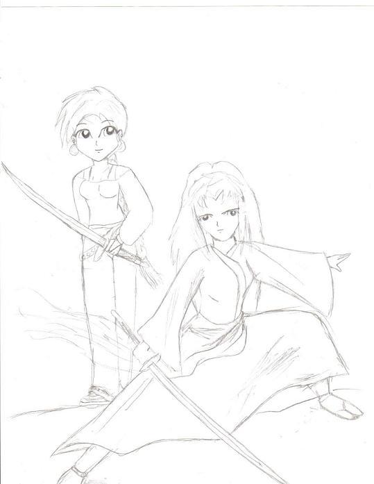samurai girls by xoprincessxo710