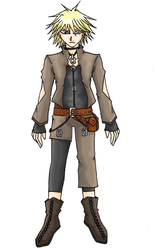 Galerians: Darkness - NC1 Character Design - by YamiSavrilleIshtar