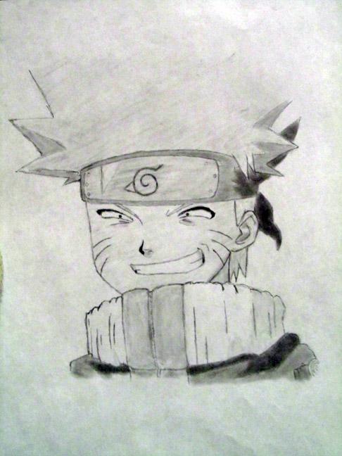 My First Naruto Drawing by YamiYugi1