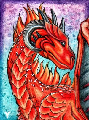 Dragarta ACEO by YlangYlang