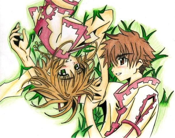Sakura and Shaoran by Yoko_KH