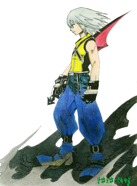 Riku with blade by Yoko_KH