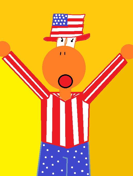 American Yoshi by Yoshi4EverAfter