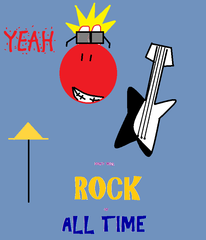 Yoshi - Rock of all Time by Yoshi4EverAfter
