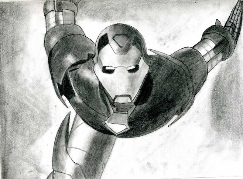 Iron Man by Yotsuba