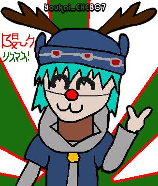 MERRI KURISUMASSU!(It's Elk!) by Youkai_exe807