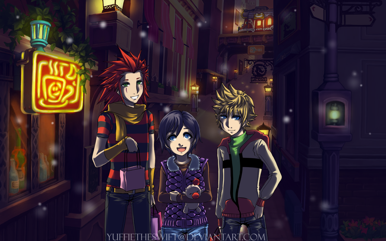Shoping in Twilight by YuffieTheSwift