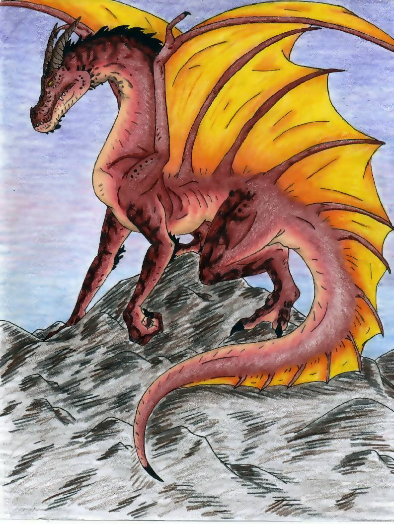 A Volcanic Dragon, Kenji by YugixYami_CrazedFan