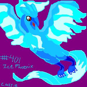 Ice Phoenix by Yuka_Kenshin